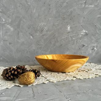 Миска з дерева / посуда из дерева