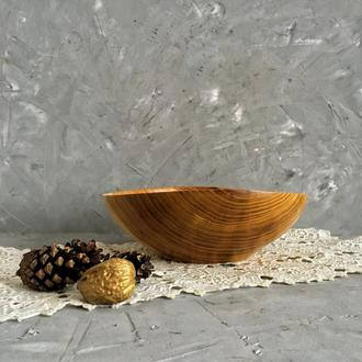 Миска для горішків з дерева