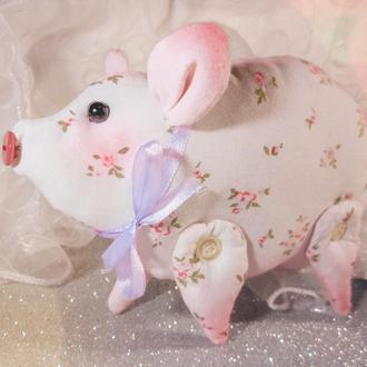 Свинка тильда - символ нового 2019 года