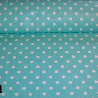 Ткань для квилтинга, пэчворка, лоскутного шитья, Бязь, горохи 0,3-0,7 см цвет в ассортименте