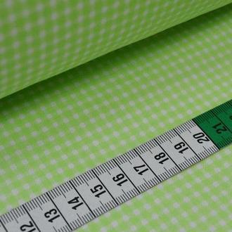 Ткань для квилтинга, пэчворка, лоскутного шитья, Бязь, клеточка мелкая. Цвет в ассортименте