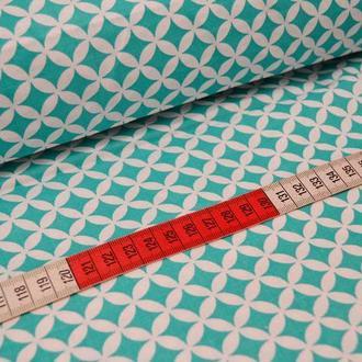 Ткань для квилтинга, пэчворка, лоскутного шитья, Бязь. Кружок с пятнышком. В ассортименте