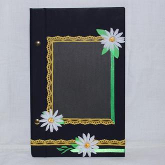 Блокнот-конструктор, скетчбук, фотоальбом + сменный блок бумаги