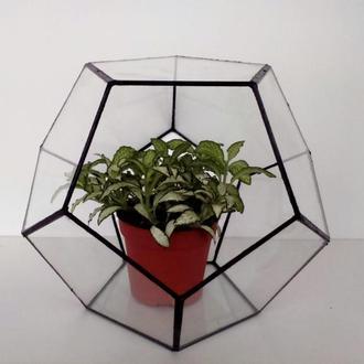 """геометрический флорариум """"Додекаэдр"""""""