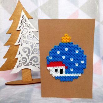 """❆ Новогодняя открытка """"Милый дом"""" ❆"""