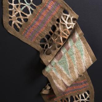 Женский шарф из шерсти мериноса