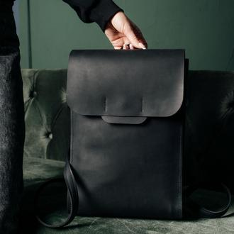 Рюкзак из кожи, кожаный рюкзак,шкіряний рюкзак