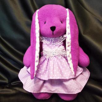 Зайка Милашка, для девочки, для девушки, подарок, игрушка