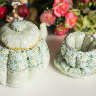 Мягкий чайный набор ручной рабты
