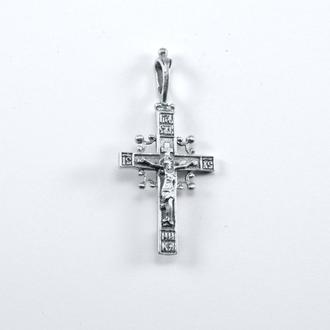 кулон крестик
