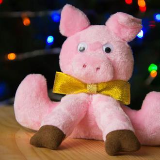 Игрушечная свинья Мая