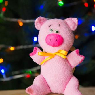Игрушечная свинья Лёня