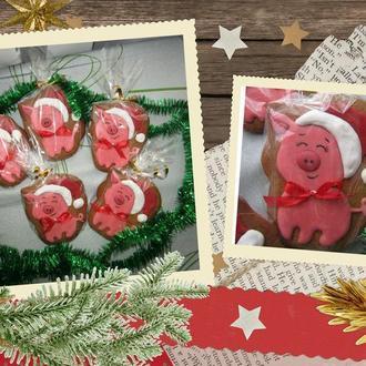 Новорічна свинка