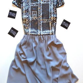 Эксклюзивное платье с пайетками от MELLOWsewing