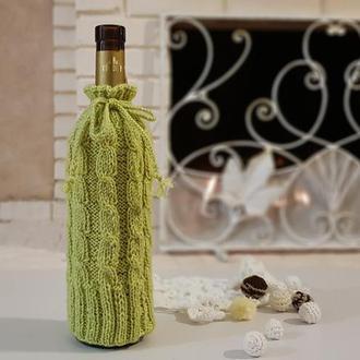 Декор бутылок, Упаковка, украшение для новогодней бутылки, Оригинальный подарок