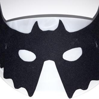Новая новогодняя карнавальная маскарадная черная мужская маска Бетмен