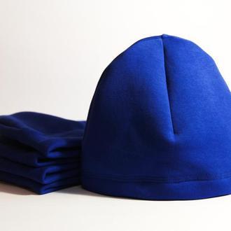 Качественная трикотажная шапка унисекс