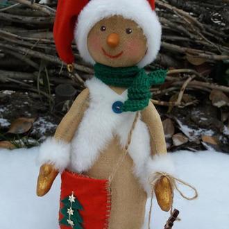 Снеговичок  - лесовичок