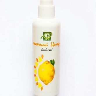 Натуральный дезодорант-спрей Солнечный цитрус