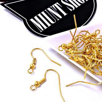 Швензы-основы для серег золото
