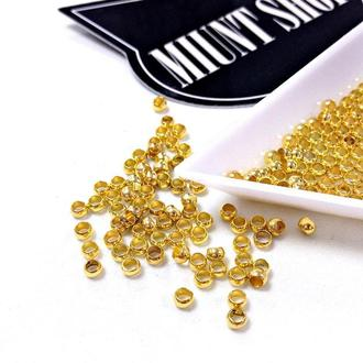Стопперы золото 2 мм