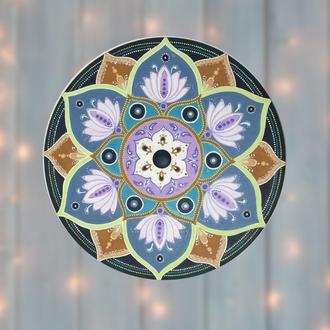Настенный декор Мандала Цветок