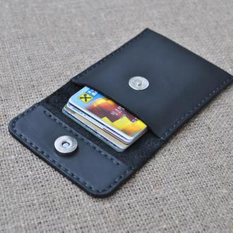 Чехол из кожи для карт и визиток KAR01-0