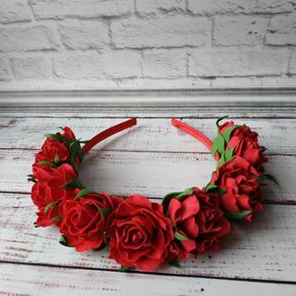"Венок ,,розы"""