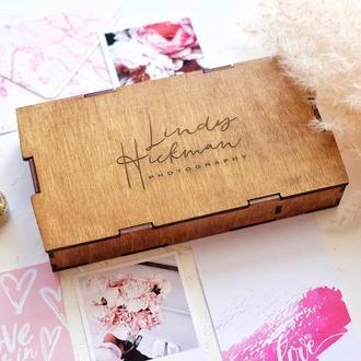 Коробка для хранения фото и USB