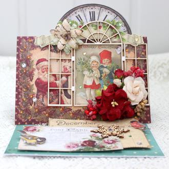 Новорічна листівка, різдвяна листівка