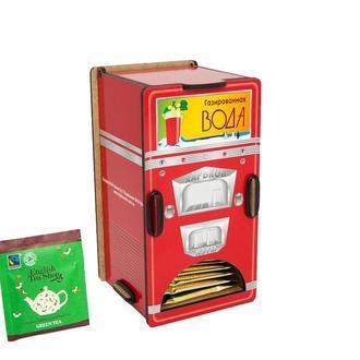 Диспенсер для чайных пакетиков «Автомат Газированной Воды»
