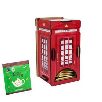 Диспенсер для чайных пакетиков «Лондонская Телефонная Будка»