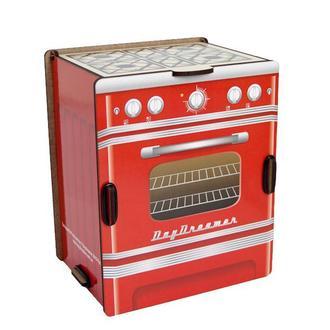 Кухонный органайзер для специй и формочек «Ретро Плита (красная)»