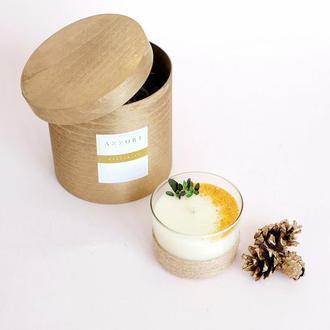 Ароматная, массажная, натуральная свеча из соевого воска Загадай Желание, подарок, декор