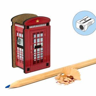 Точилка для карандашей «Лондонская Телефонная Будка»
