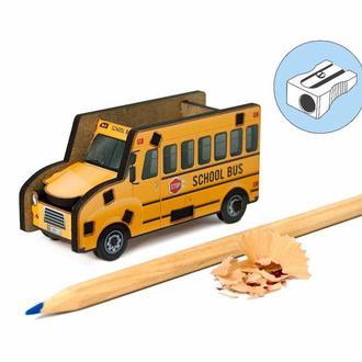 Точилка для карандашей «Школьный Автобус»