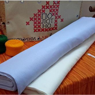 Тканина для вишивання, равномерка, полотно Голубе