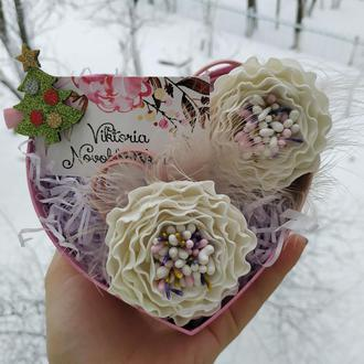 Цветы резиночки