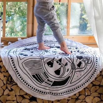 Двусторонний коврик для детей