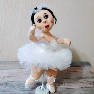 Кукла из капрона Лулу 30 см