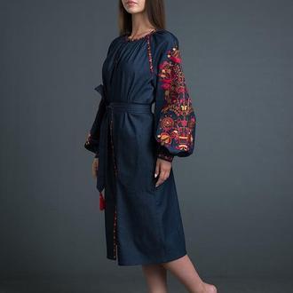 """Дизайнерська вишита сукня """"Дерево Життя"""""""