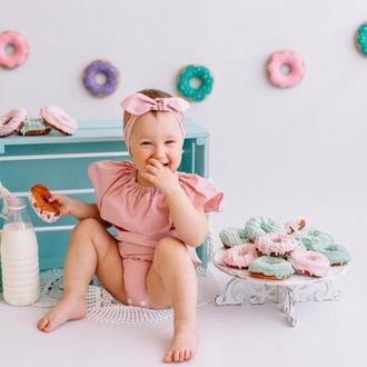 Фетровые пончики для игры и фотосессии