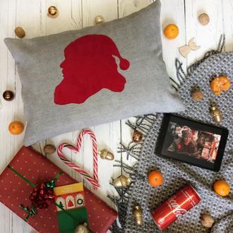 Подушка новогодняя рождественская Санта