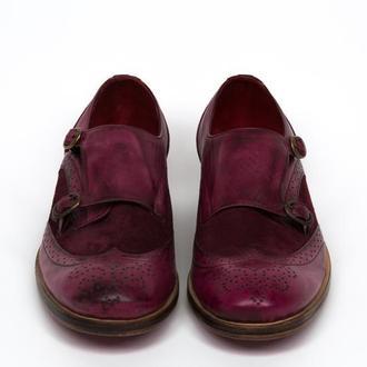 Туфли женские монки