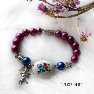 """Элегантный женский  браслет """"Лючия"""" /Браслет на подарок девушке"""