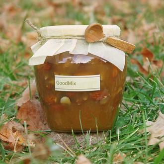 Гречишный мед с миндалем и грецкими орехами 550 мл
