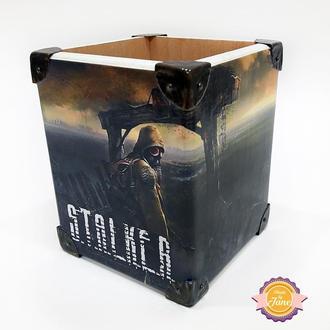 Стакан с героем игры S.T.A.L.K.E.R. (Сталкер)