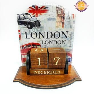 Вечный календарь Лондон