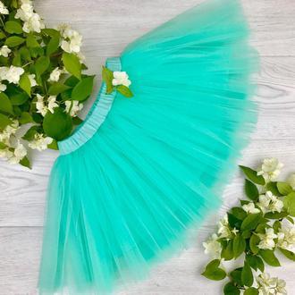 Детская юбка пачка, юбка для девочки, фатиновая юбка, нарядная юбка, подарок для девочки, праздник
