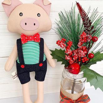 Новорічна свинка - символ 2019 року